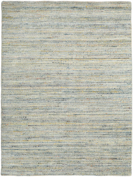 Mazic - Green_Grey Rug 140X200 Authentic  Modern Handknotted Light Grey (Wool, India)