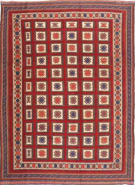 Kilim Golbarjasta Rug 199X280 Authentic  Oriental Handwoven Dark Red/Rust Red (Wool, Afghanistan)