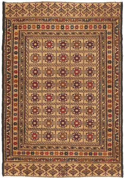 Kilim Golbarjasta Rug 128X187 Authentic  Oriental Handwoven Light Brown/Dark Brown (Wool, Afghanistan)