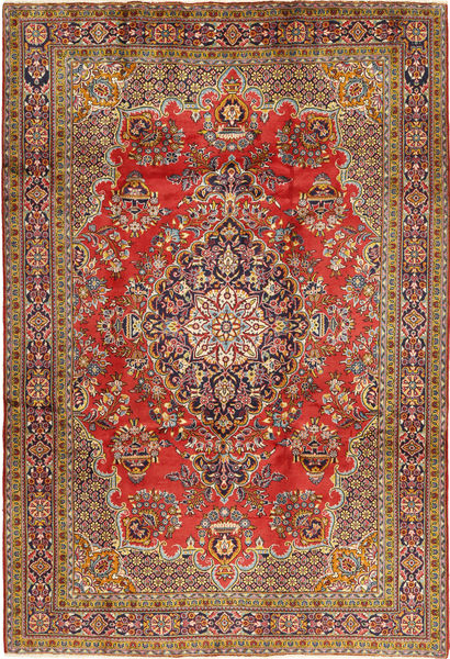 Golpayegan Dywan 218X318 Orientalny Tkany Ręcznie Ciemnobrązowy/Jasnobrązowy (Wełna, Persja/Iran)