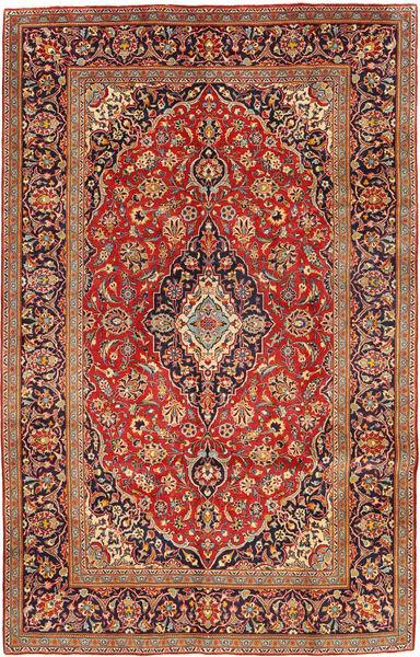 Keshan Matto 192X306 Itämainen Käsinsolmittu Ruskea/Vaaleanruskea (Villa, Persia/Iran)