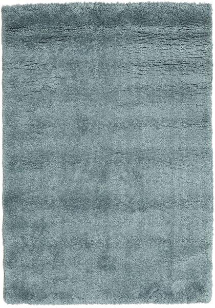 Shaggy Sadeh - Teal Teppich  140X200 Moderner Blau/Dunkel Türkis ( Türkei)