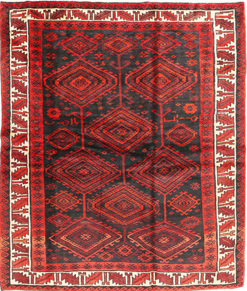 Lori Rug 183X214 Authentic  Oriental Handknotted Dark Red/Dark Brown (Wool, Persia/Iran)