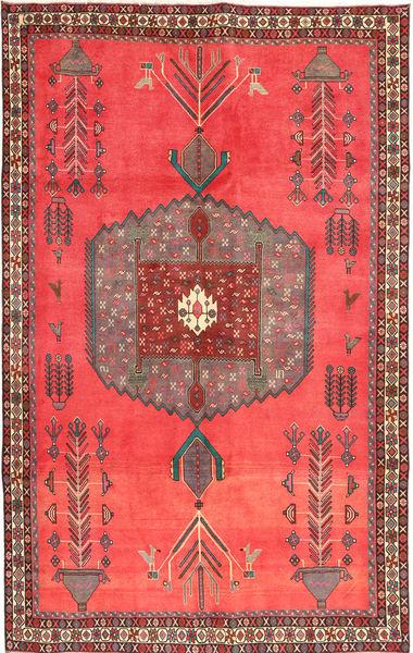 Afshar Rug 170X266 Authentic  Oriental Handknotted Orange/Brown (Wool, Persia/Iran)
