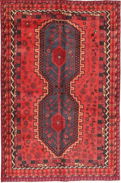 Lori Alfombra 155X246 Oriental Hecha A Mano Roja/Azul Oscuro (Lana, Persia/Irán)