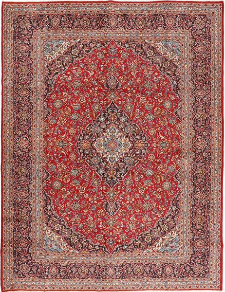 Keshan Matto 300X390 Itämainen Käsinsolmittu Ruskea/Ruoste Isot (Villa, Persia/Iran)