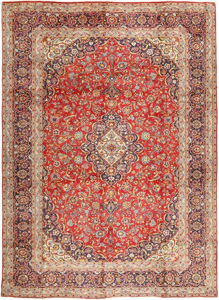 Keshan Matto 292X400 Itämainen Käsinsolmittu Ruskea/Vaaleanruskea Isot (Villa, Persia/Iran)