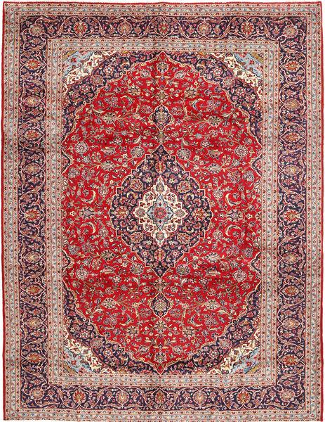 Keshan Matta 300X385 Äkta Orientalisk Handknuten Roströd/Brun Stor (Ull, Persien/Iran)