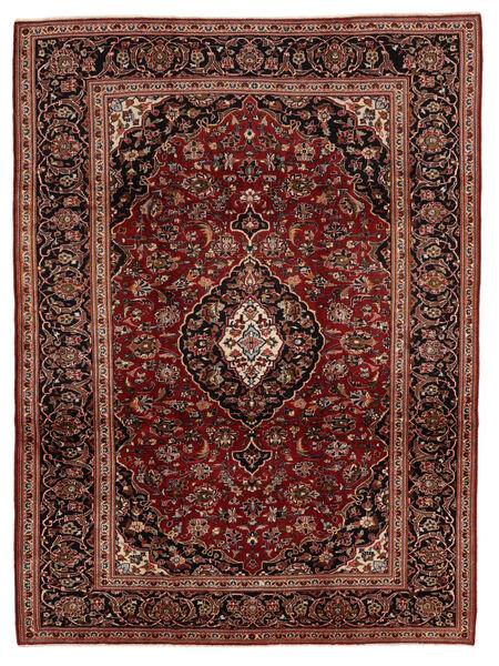 Keshan Matto 224X315 Itämainen Käsinsolmittu Tummanpunainen/Vaaleanruskea (Villa, Persia/Iran)