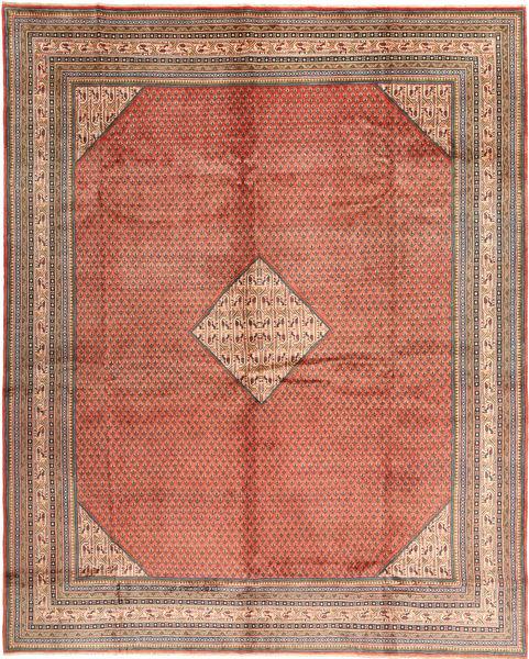 Sarough Mir Matto 292X375 Itämainen Käsinsolmittu Vaaleanruskea/Ruskea Isot (Villa, Persia/Iran)