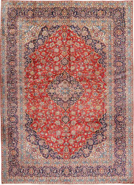 Keshan Matto 293X405 Itämainen Käsinsolmittu Vaaleanvioletti/Vaaleanruskea Isot (Villa, Persia/Iran)
