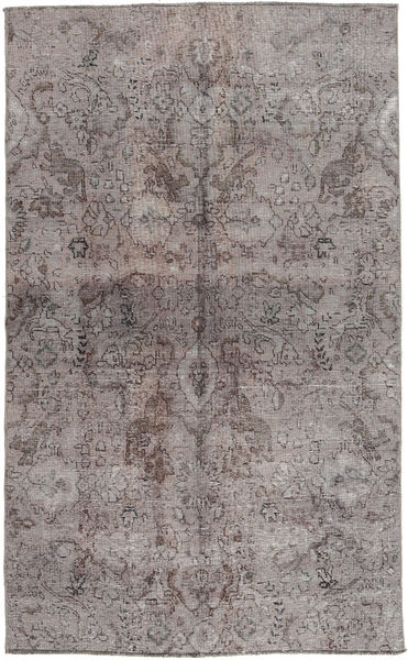 Colored Vintage Dywan 131X215 Nowoczesny Tkany Ręcznie Jasnoszary/Ciemnoszary (Wełna, Pakistan)