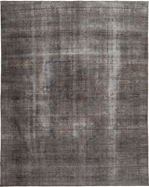 Colored Vintage Rug 272X344 Authentic  Modern Handknotted Brown/Dark Brown Large (Wool, Pakistan)