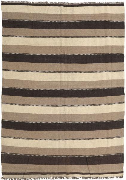Kilim Rug 177X256 Authentic  Oriental Handwoven Light Grey/Dark Grey/Beige (Wool, Persia/Iran)