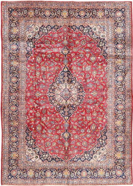 Keshan Matto 300X433 Itämainen Käsinsolmittu Vaaleanruskea/Vaaleanharmaa Isot (Villa, Persia/Iran)