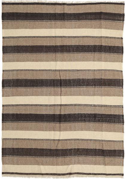Kilim Rug 175X255 Authentic  Oriental Handwoven Light Grey/Beige/Dark Grey (Wool, Persia/Iran)