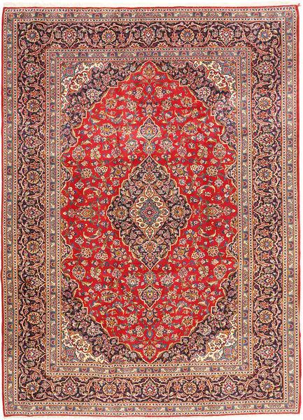 Keshan Matto 258X352 Itämainen Käsinsolmittu Tummanpunainen/Ruoste Isot (Villa, Persia/Iran)