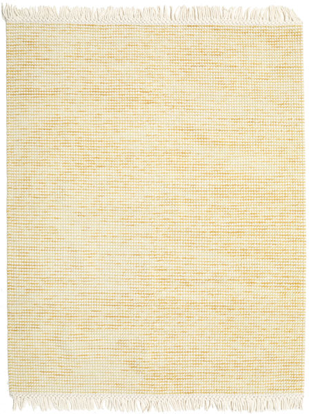 Medium Drop - Yellow Mix Rug 190X240 Authentic  Modern Handwoven Beige/Dark Beige (Wool, India)
