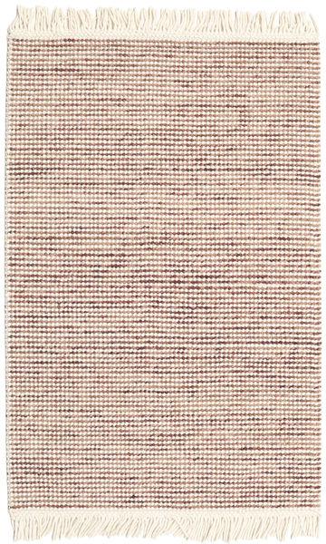 Medium Drop - Brown/Rose Mix Rug 120X180 Authentic  Modern Handwoven Beige/Light Pink (Wool, India)