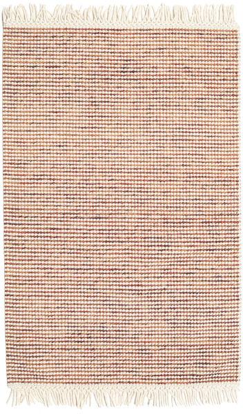 Medium Drop - Rust/Orange Mix Rug 120X180 Authentic  Modern Handwoven Beige/Light Brown (Wool, India)
