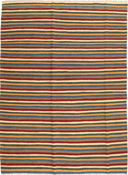 Kilim Rug 174X235 Authentic  Oriental Handwoven Brown/Blue (Wool, Persia/Iran)