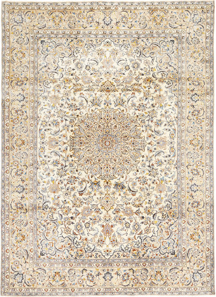 Najafabad Rug 250X353 Authentic  Oriental Handknotted Light Brown/Beige Large (Wool, Persia/Iran)