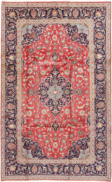 Keshan Matto 200X325 Itämainen Käsinsolmittu Ruskea/Ruoste (Villa, Persia/Iran)