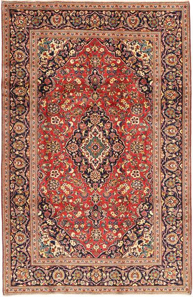 Keshan Matto 198X310 Itämainen Käsinsolmittu Ruskea/Ruoste (Villa, Persia/Iran)