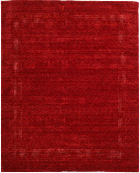 Handloom Gabba - Red Rug 240X300 Modern Dark Red/Crimson Red (Wool, India)