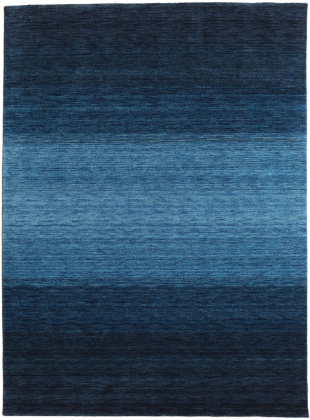 Gabbeh Rainbow - Blue Rug 210X290 Modern Dark Blue/Blue (Wool, India)