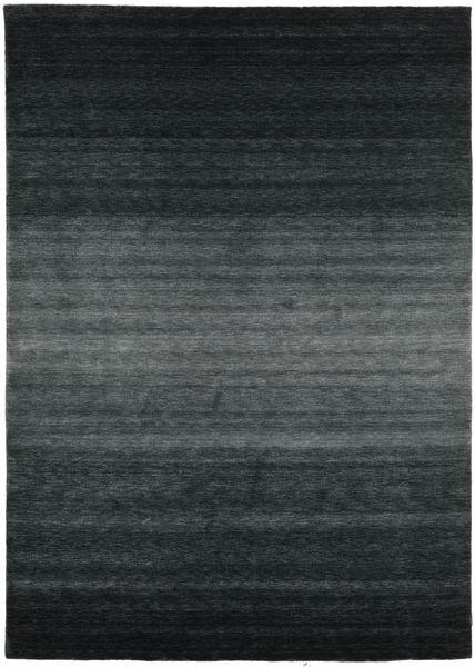 Gabbeh Rainbow - Grigio Tappeto 240X340 Moderno Nero/Grigio Scuro (Lana, India)