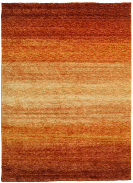 Gabbeh Rainbow - Rust Teppe 210X290 Moderne Orange/Lysbrun (Ull, India)
