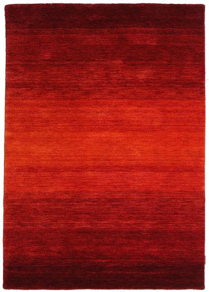 Gabbeh Rainbow - Röd Matta 140X200 Modern Roströd/Mörkröd (Ull, Indien)