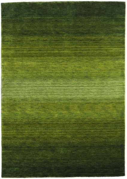 Gabbeh Rainbow - Green Rug 160X230 Modern Dark Green/Olive Green (Wool, India)