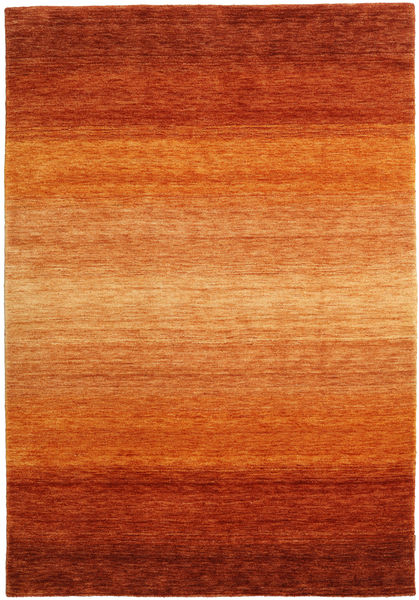 Gabbeh Rainbow - Rust Tæppe 160X230 Moderne Orange/Rust (Uld, Indien)