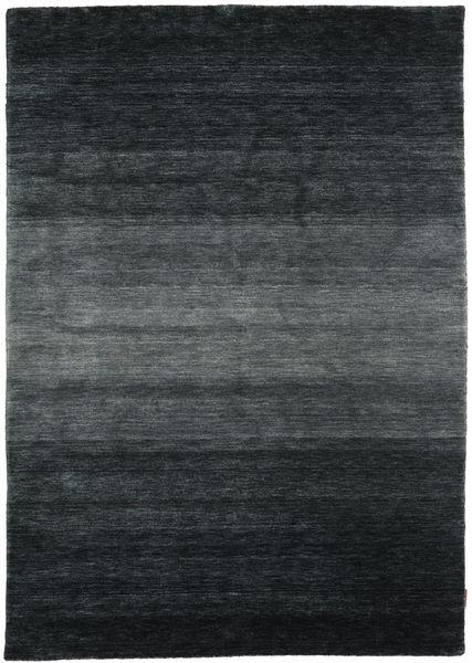 Gabbeh Rainbow - Harmaa Matto 160X230 Moderni Musta/Tummanharmaa (Villa, Intia)