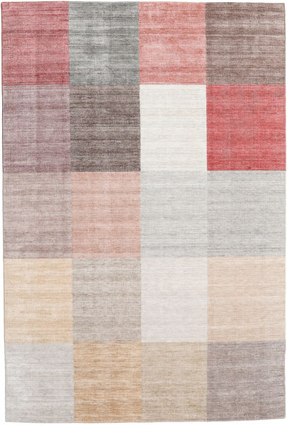 Malva - Rust Rug 200X300 Authentic  Modern Handknotted Light Grey/White/Creme (Wool, India)