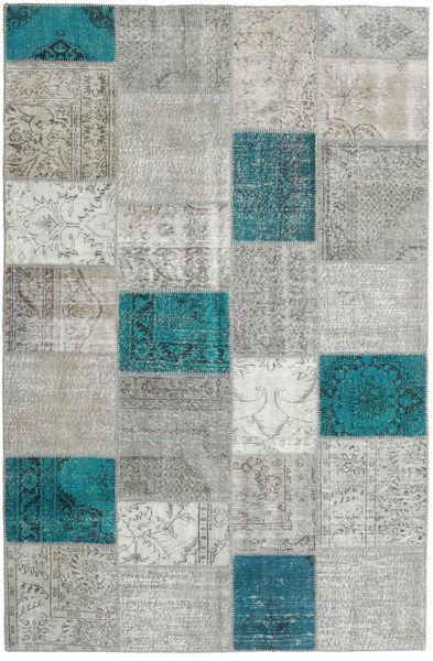 Patchwork Rug 197X301 Authentic  Modern Handknotted Light Grey/Beige (Wool, Turkey)