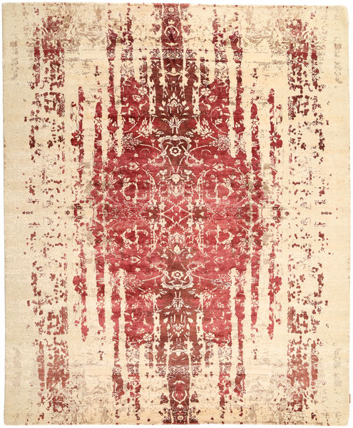 Roma Modern Collection Rug 252X306 Authentic  Modern Handknotted Beige/Light Pink Large ( India)