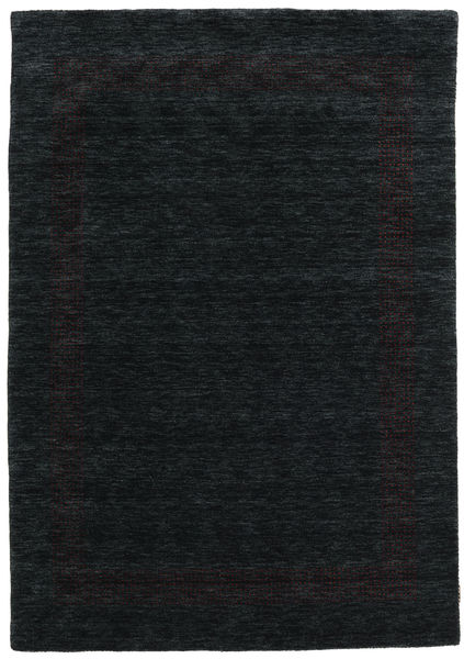 Handloom Gabba - Black/Grey Rug 160X230 Modern Black (Wool, India)