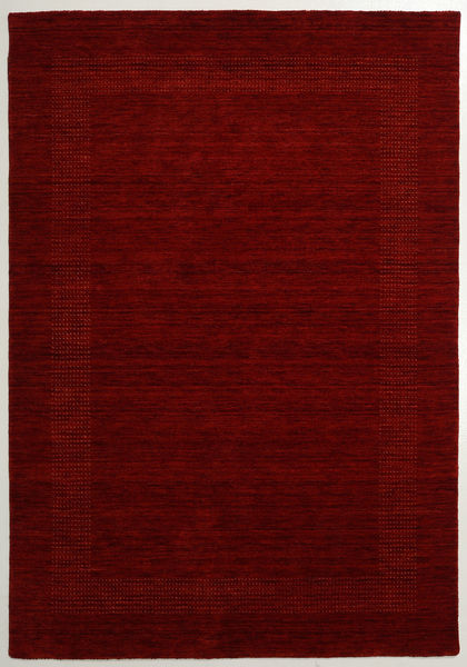Handloom Gabba - Red Rug 160X230 Modern Dark Red (Wool, India)