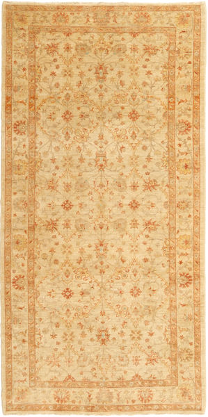 Ziegler Rug 151X313 Authentic  Oriental Handknotted Light Brown/Dark Beige (Wool, Pakistan)