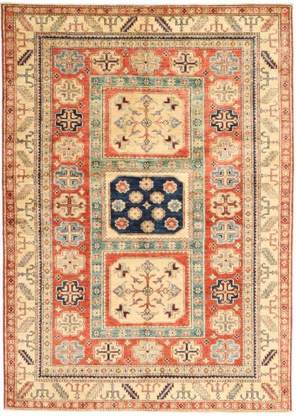 カザック 絨毯 142X205 オリエンタル 手織り 薄茶色/ベージュ (ウール, パキスタン)