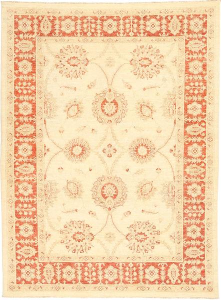 Ziegler Rug 167X224 Authentic  Oriental Handknotted Beige/Yellow (Wool, Pakistan)