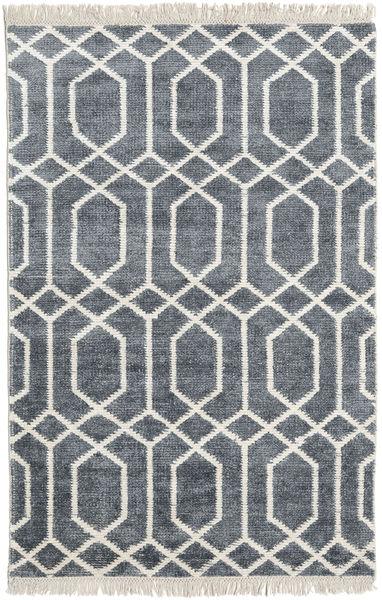 Bamboe zijde Vanice - Grijs tapijt CVD17380