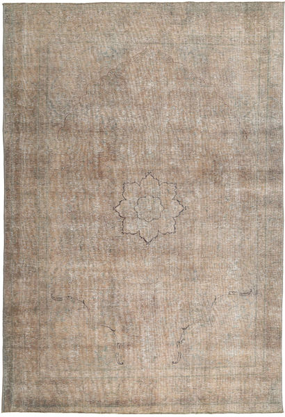 Colored Vintage Rug 226X338 Authentic  Modern Handknotted Light Brown (Wool, Pakistan)