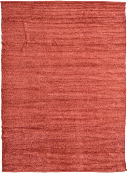 Chilim Janilie - Coppery_ Covor 210X290 Orientale Lucrate De Mână Ruginiu/Roșu-Închis ( India)