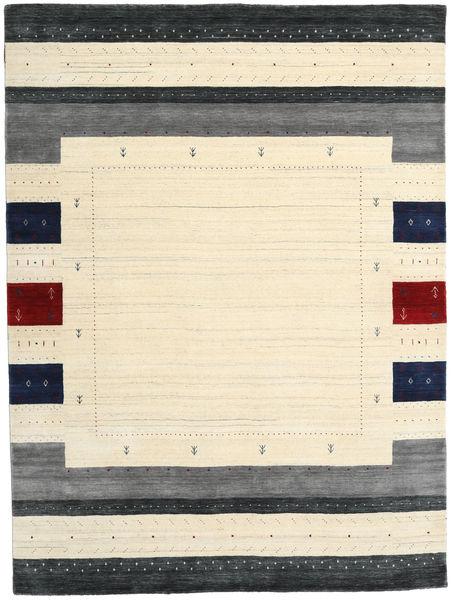 Loribaf Loom Designer Rug 210X290 Authentic  Modern Handknotted Beige/Dark Blue (Wool, India)