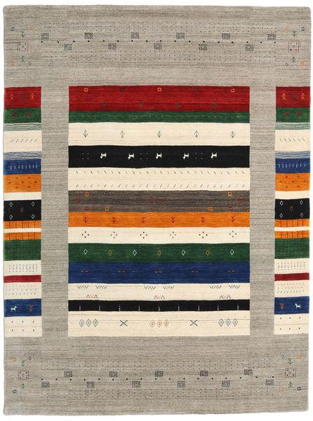 Loribaf Loom Designer Rug 210X290 Authentic  Modern Handknotted Light Grey/Dark Grey (Wool, India)