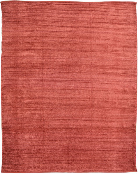 Kilim Chenille - Coppery_ Rug 240X300 Authentic  Oriental Handwoven Rust Red/Dark Red ( India)